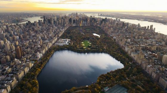Central Park, Manhattan, New York, USA Travel/Location Scenic Print/Poster. Sizes: A4/A3/A2/A1 (002365)